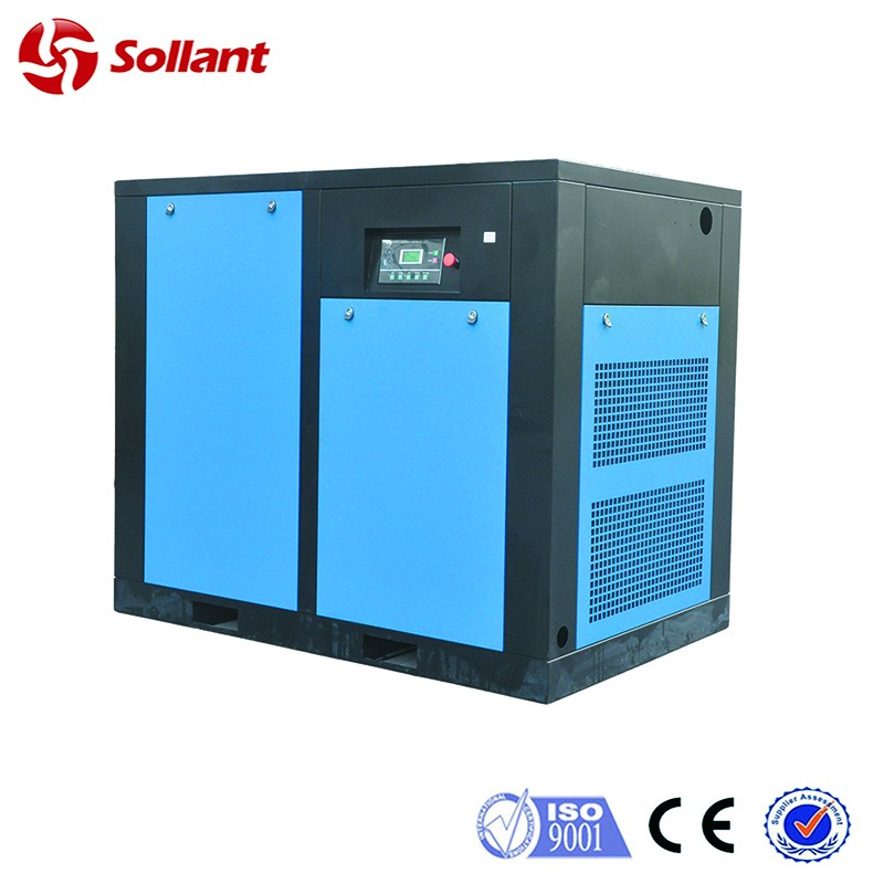 90kw Fixed speed screw air compressor